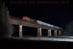 Oh Starry Night. (Jeff Robertson) Tags: sandtrain athabasca edsonsub cnr nightshot flashphotography
