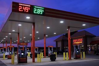 Payless Gas Station No3 Sunset II