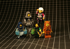 LLoH - Query (slight.of.brick) Tags: lego league heroes minifigure question
