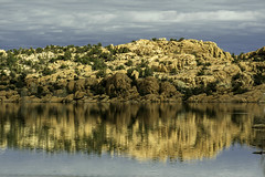 Reflections of Granite on Watson Lake, Arizona (TAC.Photography) Tags: water reflection reflections granite rock watsonlake arizona arizonapassages landscape landscapephotography 2019yip d7500 southwest southwestern nikon nikoncamera tomclarknet tacphotography