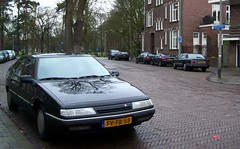 Citroën XM 2.0i / Buick Park Avenue (Skylark92) Tags: nederland netherlands holland utrecht city stad citroën xm 20i 1992 fvfr58 onk origineel nederlands kenteken buick park avenue 38i v6 jpsr59 1994
