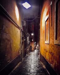 """Camminando..."" (giannipaoloziliani) Tags: buio architecture sagome shapes shadows walking hard hardstreet flickr italy liguria lightandshadow night nikon nikoncamera nikonphotography vicolidigenova vicoli alleys alleysofgenoa genova genoa focalpoint caruggi periphery suburbs street dark darkness obscurity streetphotography colors grezzo raw hdr"