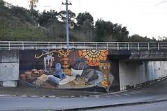 Tomar - street art (jaime.silva) Tags: tomar portugal portugalia portugalsko portugália portugalija portugali portugale portugalska portugalsk portogallo portúgal portugāle painting paint spraypaint spraypainting muralpainting spray mural art arte arts arteurbana artepublica urban urbanart streetart streetartist wall wallart