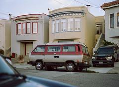 Sunset District // San Francisco (bior) Tags: pentax645nii pentax645 pentax 645 mediumformat 120 cinestill50d cinestill sanfrancisco sunsetdistrict house home volkswagen microbus vanagon transporter type2 caravelle t3