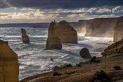 P2252185-Edit Gables to 12 Apostles (Dave Curtis) Tags: victoria greatoceanwalk 12 apostles ocean 2014 australia em5 omd olympus places september
