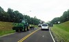 TractorOnRoad (geistli) Tags: road safety combine visibility driving planting equipment roadway tourist area hazard