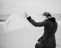 Rehoboth Beach, DE /// Winter 20?? (robert.m.gambill) Tags: canon eos a2 35mm 35mmslr ilforddelta400 bw rehobothbeach delaware candid