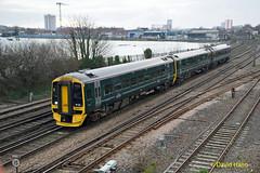 Southampton 158951 (davidhann34016) Tags: 158951 class158 stdenys southampton qwr