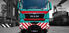 Details... 😂 (gripshotz) Tags: gruber logistics italy man tgx heavy haul 8x4 v8 680 skin euro truck simulator ets 2