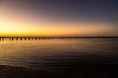 Clifton Springs Sunset-5 (Quick Shot Photos) Tags: bellarine canon cliftonsprings jetty oldpier sunset victoria australia au