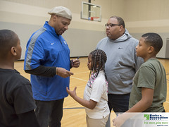 MakeItHappenFootballClinic 19-95 (Prince George's County Department of Parks and Rec) Tags: makeithappenboysempowermentfootballclinic makeithappen boys empowerment football clinic fortwashingtonforestcommunitycenter speaker teacher catching running