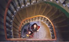 Edinburgh (The_Last_Magnus) Tags: film analog analogue pentax 35mm 35mmfilm edinburgh stairs stairway architecture