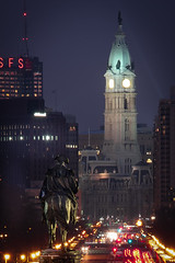 Eakins Oval (FotographybyFrank) Tags: eakins oval philadelphia love cityofbrotherlylove nikon d500 night dusk city philly fotographybyfrank georgewashington washingtonmonument longexposure cityhall