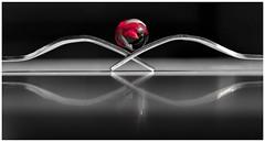 Cuando las almas se tienen que encontrar, el destino acerca los mundos, borra la distancia, una los caminos y desafía a lo imposible. (elena m.d.) Tags: arte simetría colores colors monocromo nikon d5600 sigma sigma105 2019 rojo red