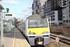 Abellio Greater Anglia . 321320 . Stratford Station , East London . Monday 11th-February-2019 . (AndrewHA's) Tags: stratford eastlondon railway station abellio greater anglia class 321 electric multiple unit emu 321320 1k44 liverpool street southend essex passenger train