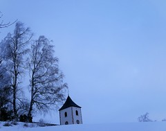 Winter time (blogspfastatt (+5.000.000 views)) Tags: blogspfastatt winter wintertime hiver season church eglise time tree arbre