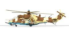 Lego Mil Mi-35M Hind E | Minifigure Scale (DarthDesigner) Tags: ldd moc builds instructions bricks brick mocs legodigitaldesigner starwars oninemesis thedarthdesigner tdd military lego digitaldesigner darth mi24 mi35 milmi24 milmi35 hind mi24hind legohind