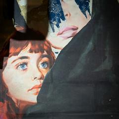 Remains of advertising poster (davepickettphotographer) Tags: hiddenlondon uk eustonstation underground londontransport tour photography station tunnels lost england city cityoflondon urbex exploration londontransportmuseum