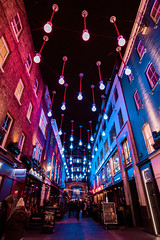 Bulbs in Carnaby Street, London (FilippoRusso.) Tags: lightpainting carnaby street london bulbs lampadine canon tokina 1120