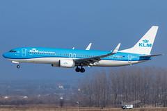 PH-BXU | KLM Royal Dutch Airlines | Boeing 737-8BK | BUD/LHBP (Tushka154) Tags: hungary spotter 737nextgeneration ferihegy budapest klmroyaldutchairlines 737800 boeing 737 phbxu 7378bk 737ng aircraft airplane aviation lhbp lisztferencinternationalairport planespotter planespotting