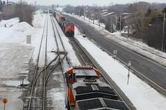Meet (recekasten) Tags: neenah wiscosin railroads trains cn up bnsf cefx railroading