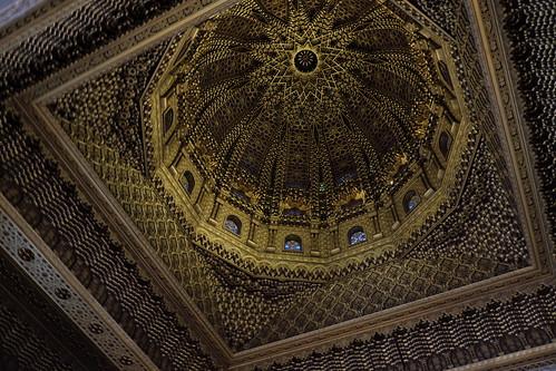 Ceiling of the Mohammed V Masoleum