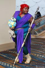 IMG_4366 (willdleeesq) Tags: cosplay cosplayer cosplayers lbce lbce2019 longbeachcomicexpo longbeachcomicexpo2019 disney disneycosplay ariel littlemermaid bb8 starwars jedi rey
