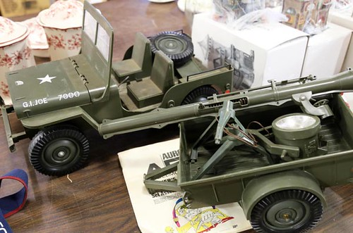 G.I. Joe Jeep with Trailer ($145.60)