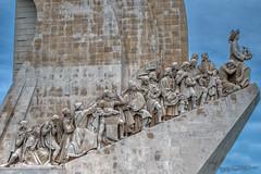 Lisbonne_6636 (Luc Barré) Tags: bélem portugal lisbonne statue monument découvertes navigateur navigateurs