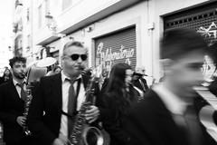 Musicians (lucas2068) Tags: bw blancoynegro blackandwhite byn monochrome monocromo valencia españa spain