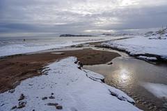 Cap d'Espoir (Danny VB) Tags: capdespoir beach playa plage gaspesie quebec canada snow winter neige hiver surfing surf sony alpha 6300 a6300