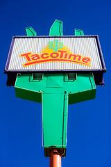 I Guess It's Time for More Tacos (Thomas Hawk) Tags: america slc saltlakecity tacotime usa unitedstates unitedstatesofamerica utah cactus neon neonsign restaurant fav10 fav25