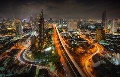 Bangkok cityscape, Bangkok night view in the business location. Bangkok, Thailand - 31 December, 2018 (pomp_jaideaw) Tags: bangkok cityscape city thailand business night view modern travel skyline architecture twilight tourism scenic downtown district metropolis location river light landscape building office urban high tower town skyscraper dawn panorama panoramic metropolitan highrise condominium new park sky corporate shadow real estate tall residential reflect condo midtown road street