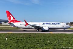 Turkish Airlines Boeing 737-8 MAX  |  TC-LCG  |  LMML (Melvin Debono) Tags: turkish airlines boeing 7378 max | tclcg lmml cn 60038 melvin debono spotting canon plane planes photography airport airplane aviation aircraft mla malta