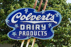 Colvert's Dairy Products (dangr.dave) Tags: durant ok oklahoma downtown historic architecture neon neonsign colvertsdairyproducts colverts