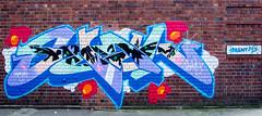 Graffiti. (paulcunningham57) Tags: birmingham birminghamcitycentre uk graffiti art abstract urban street