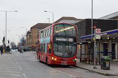 Arriva London VLW906 (BN61MXU) on Route 123 (hassaanhc) Tags: wrightbus volvo b9tl arriva arrivalondon arrivagroup