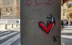 .K (tullio dainese) Tags: 2019 bologna artedistrada graffiti muri muro portici portico strade strada street streetart streets wall walls