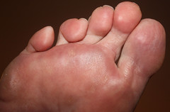Foot Printer. (Yesteryear-Automotive) Tags: womansfoot feet toes foot footprinter