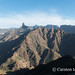 New Years day on the Artenara trail - from the Acusa cliffs