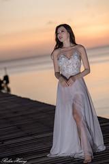 DSC_7637 (Robin Huang 35) Tags: menumbok 沙巴 馬來西亞 my 謝立琪 kiki sabah malaysia 迪加島 生還島 island 海灘 沙灘 海邊 beach 裸紗 遊拍 人像 portrait lady girl nikon d850
