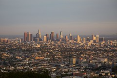 Los Angeles 1 (Lennart Arendes) Tags: canon eos 5d mark ii 2 digital los angeles downtown griffith park observatory city sunset buildings trees