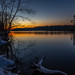 sunset-0924 (york13d) Tags: nikkor landscape nature naturephotography landscapephotography nikon nikond500 lochraven sunset sky water snow winter
