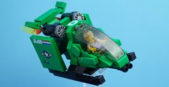 Sky Hawk (Hobbestimus) Tags: lego moc gijoe duke skyhawk 80s cartoon toys