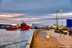 Esvagt Connector  - Aberdeen Harbour Scotland - 14/01/2019 (DanoAberdeen) Tags: ship seaport vosfairness esvagtconnector candid amateur 2019 danoaberdeen aberdeen harbour abz abdn grampian uk gb psv seafarers maritime fairtradecity ships boat offshore oilrigs supplyships cargoships workboats oilandgas footdee fittie seascape water northeast tug tugboats geotag tagged oilships aberdeenscotland sailor sealife shipspotting shipspotters scotch scotland marineoperationscentre pocraquay aberdeenharbour northeastscotland