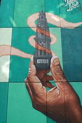 Souvenir (O Lobão) Tags: street art streetart monument graffiti color green cérigos landmark porto portugal 750d sooc explore mrdheo cartoon hand urban urbanart