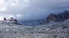 Winter is.... here (Francoise100) Tags: sedona az arizona snow snowscape rocks hills mountains peaks clouds sky light
