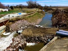 Hope this project will be more successful than the previous one! (ali eminov) Tags: wayne nebraska bridges creeks logancreek culverts floodcontroldam