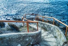 path to sea (lotti roberto) Tags: antignano livorno seascape sea sentiero seashore path winter tuscany toscana