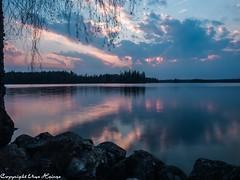 Sonnenuntergang Törn 042019 07 (U. Heinze) Tags: schweden sverige sweden blekinge wasser wolken himmel sky see olympus penf 1240mm sonnenuntergang nature